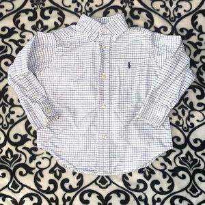 Boys long sleeve Ralph Lauren shirt
